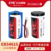 智能水表电池EVE亿纬锂能ER34615锂亚容量型电池