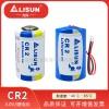 照相机电池武汉力兴CR15H270(CR2)容量型锂锰电池