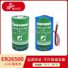 智能水表电池武汉瀚兴日月ER26500容量型锂亚电池